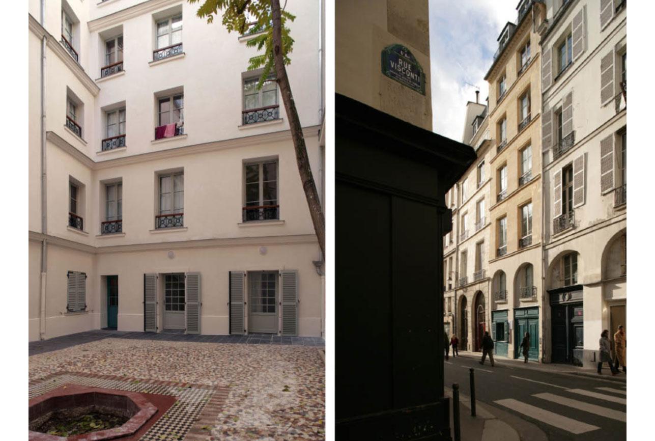 Projet rehabilitation Rue-Bonaparte-2 par Atelier JS Tabet