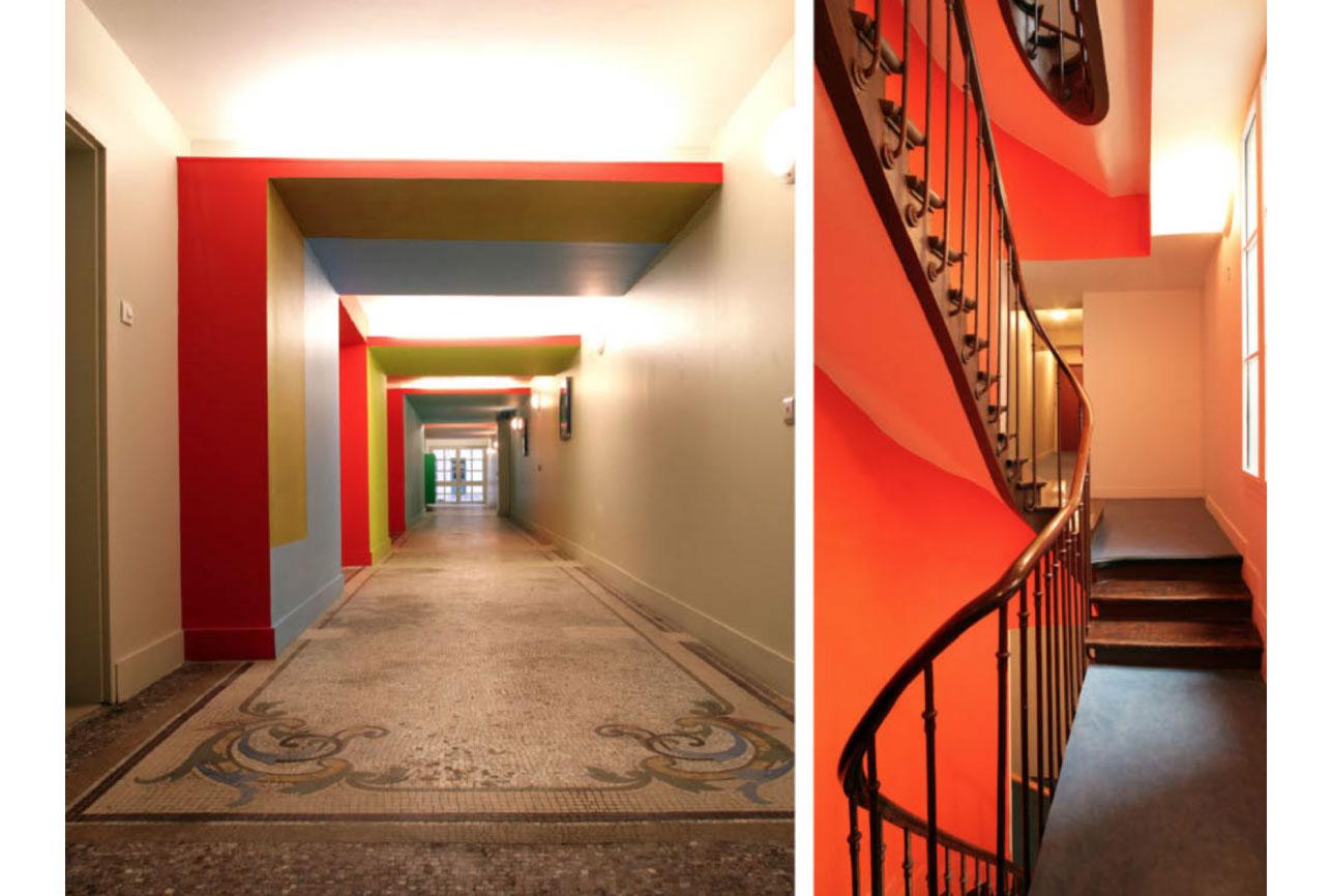 Projet rehabilitation Rue-Bonaparte-4 par Atelier JS Tabet