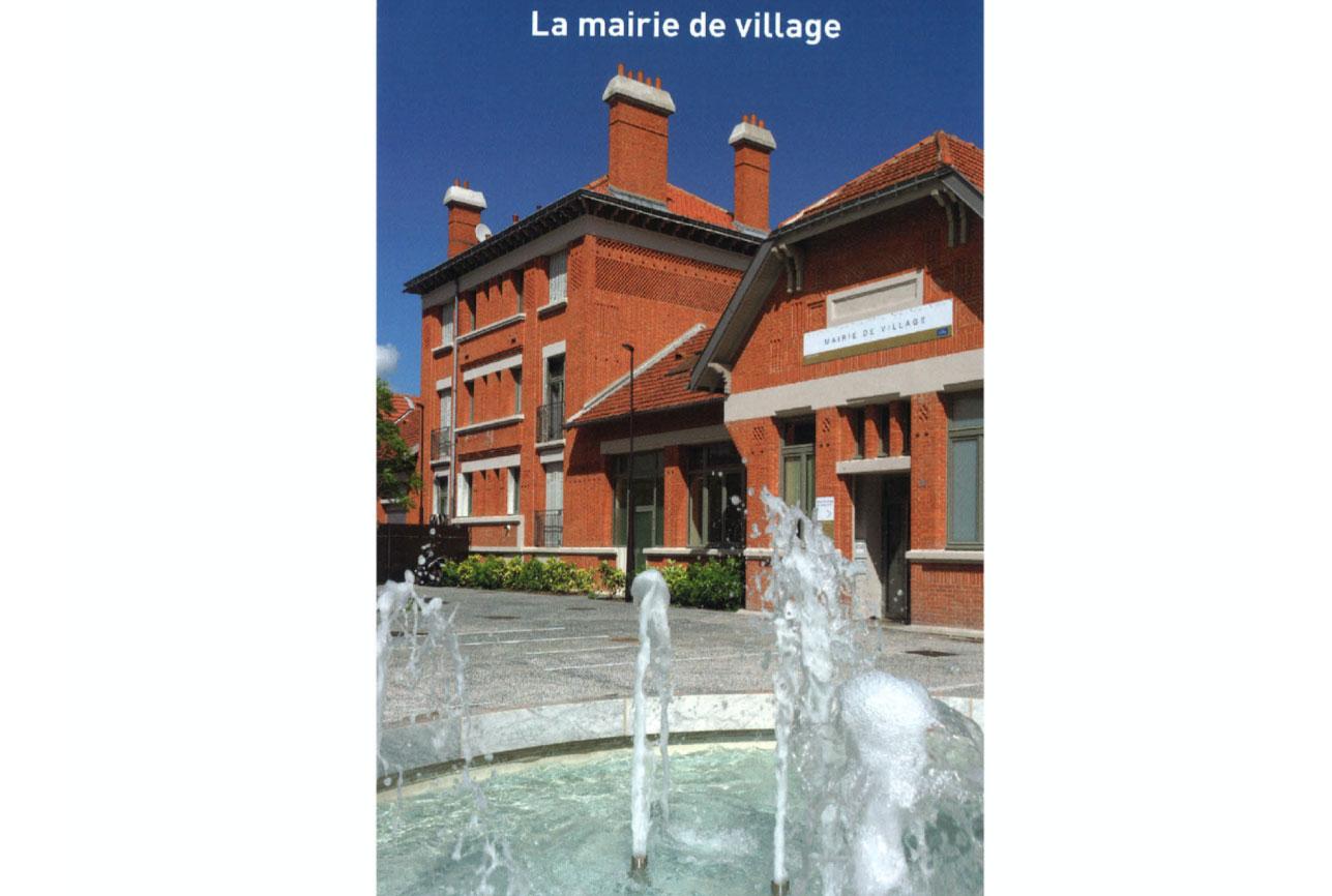 Projet urbanisme Rueil pôle administratif 2 par Atelier JS Tabet