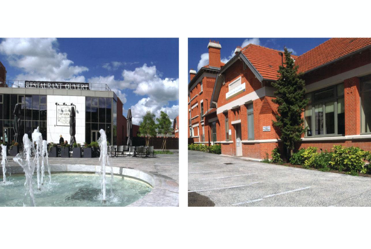 Projet urbanisme Rueil pôle administratif 3 par Atelier JS Tabet