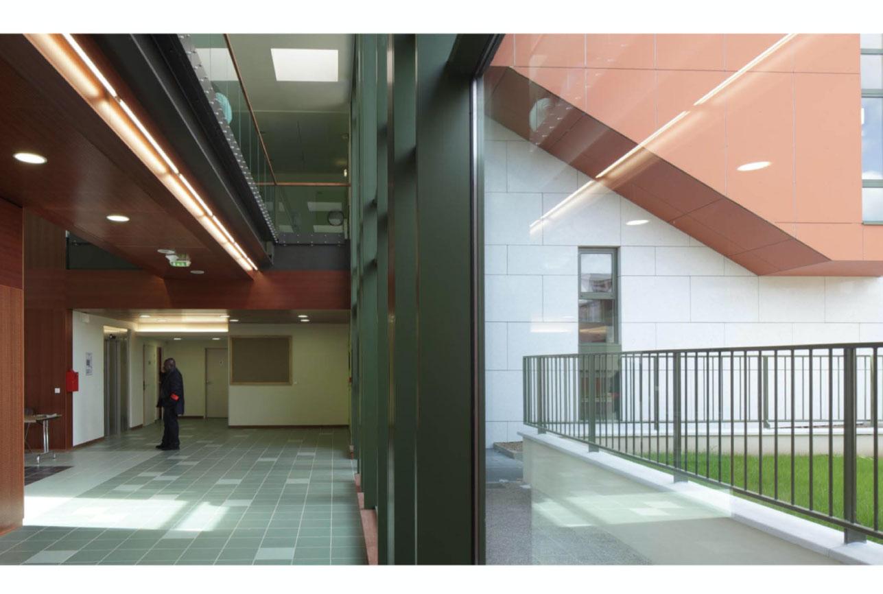 Projet urbanisme Rueil pôle culturel artisanal 10 par Atelier JS Tabet