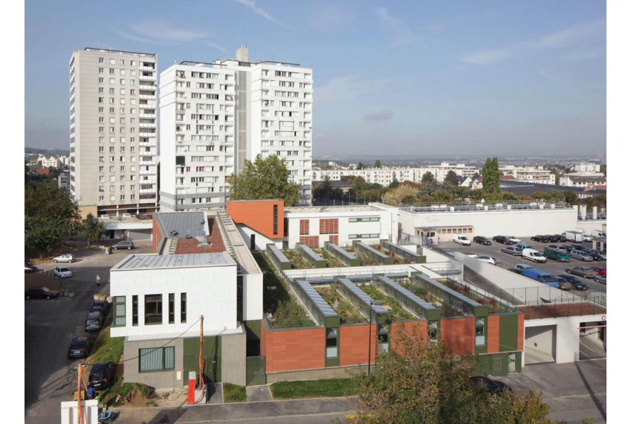 Projet urbanisme Rueil pôle culturel artisanal 4 par Atelier JS Tabet