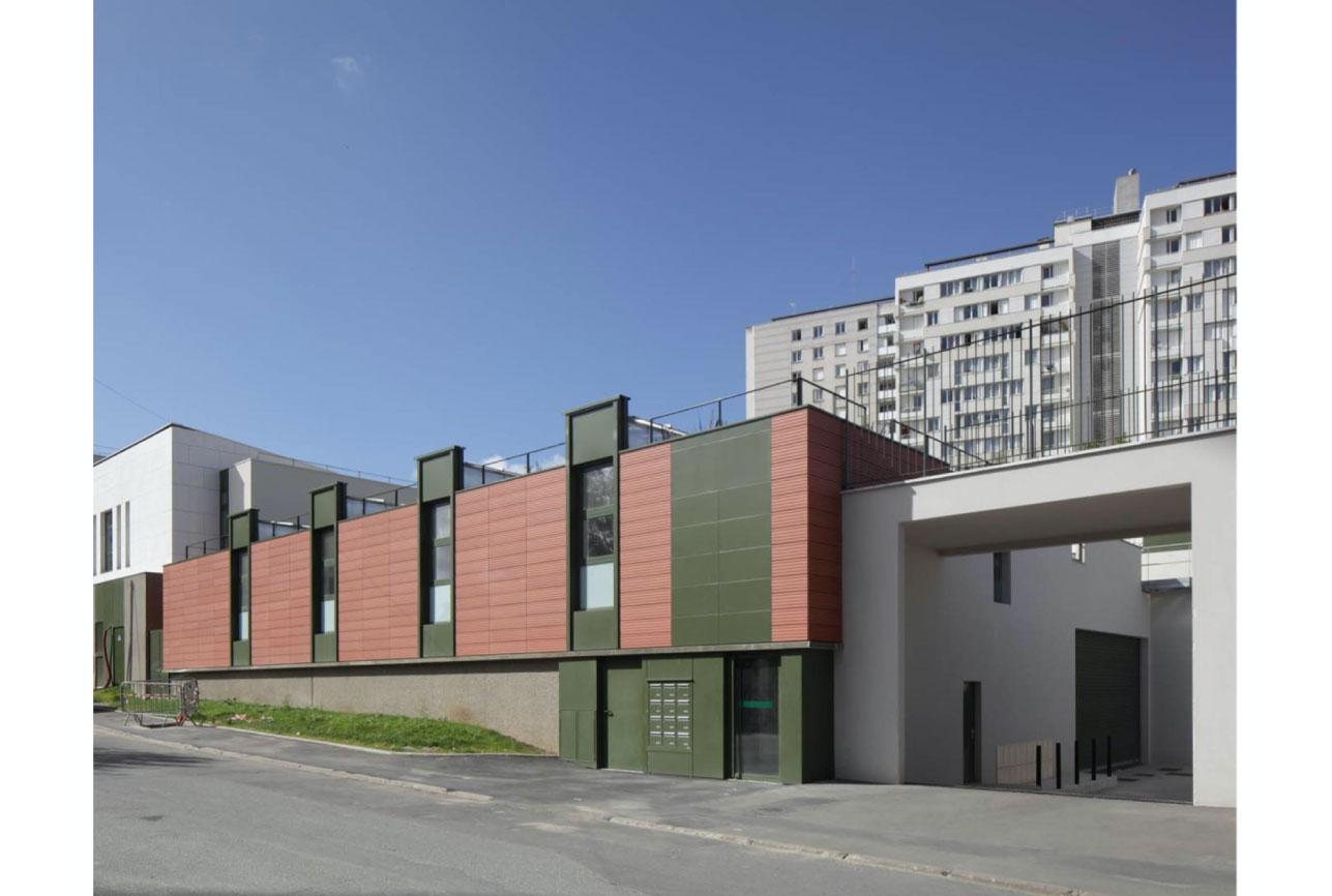 Projet urbanisme Rueil pôle culturel artisanal 5 par Atelier JS Tabet