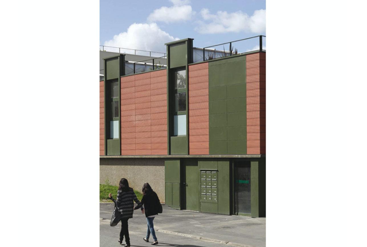 Projet urbanisme Rueil pôle culturel artisanal 6 par Atelier JS Tabet