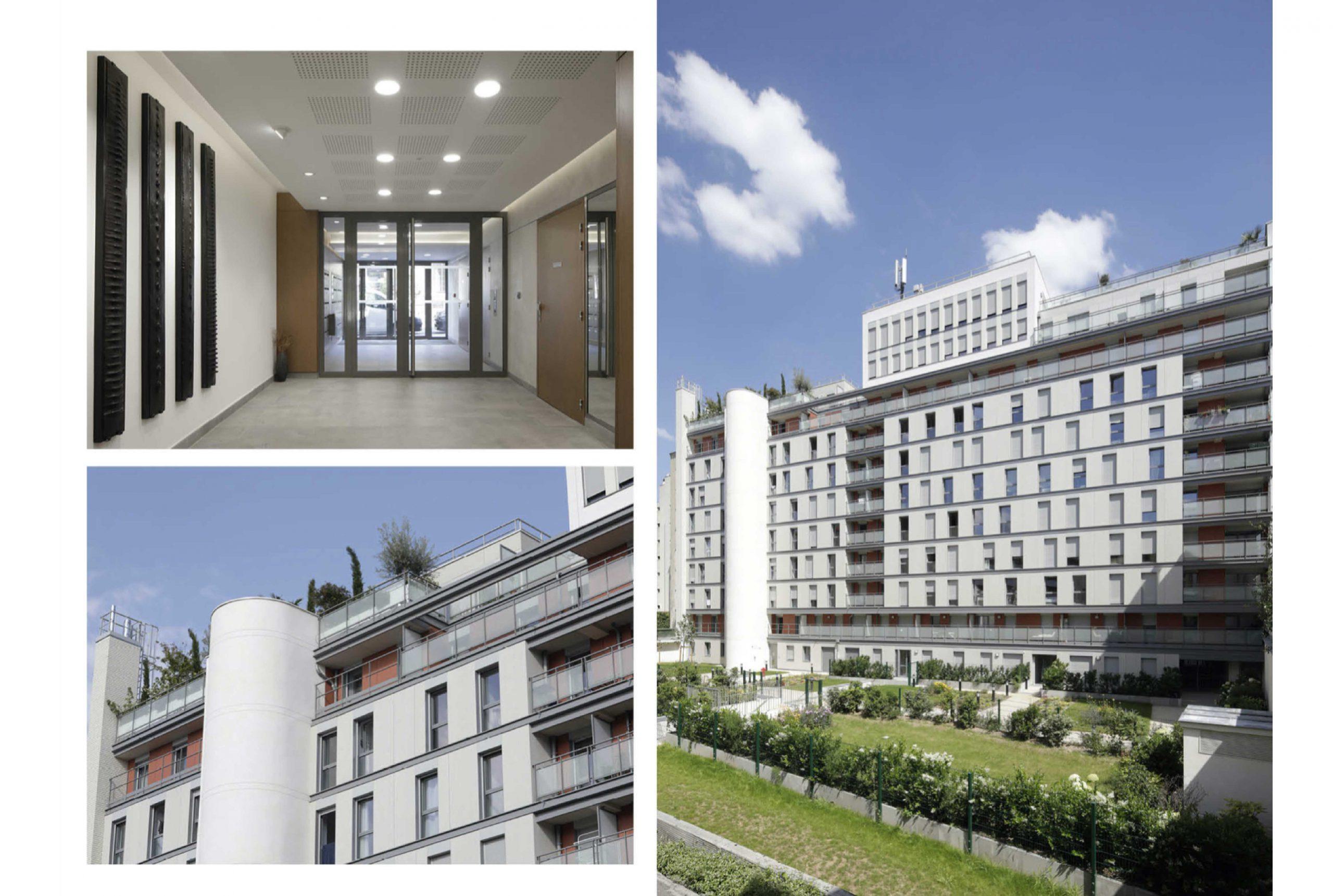 Projet logement Tombe Issoire 2 par Atelier JS Tabet