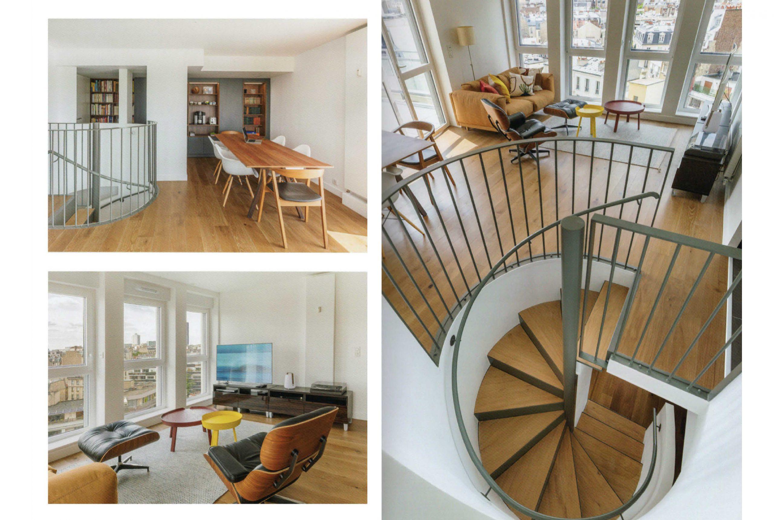 Projet logement Tombe Issoire 3 par Atelier JS Tabet