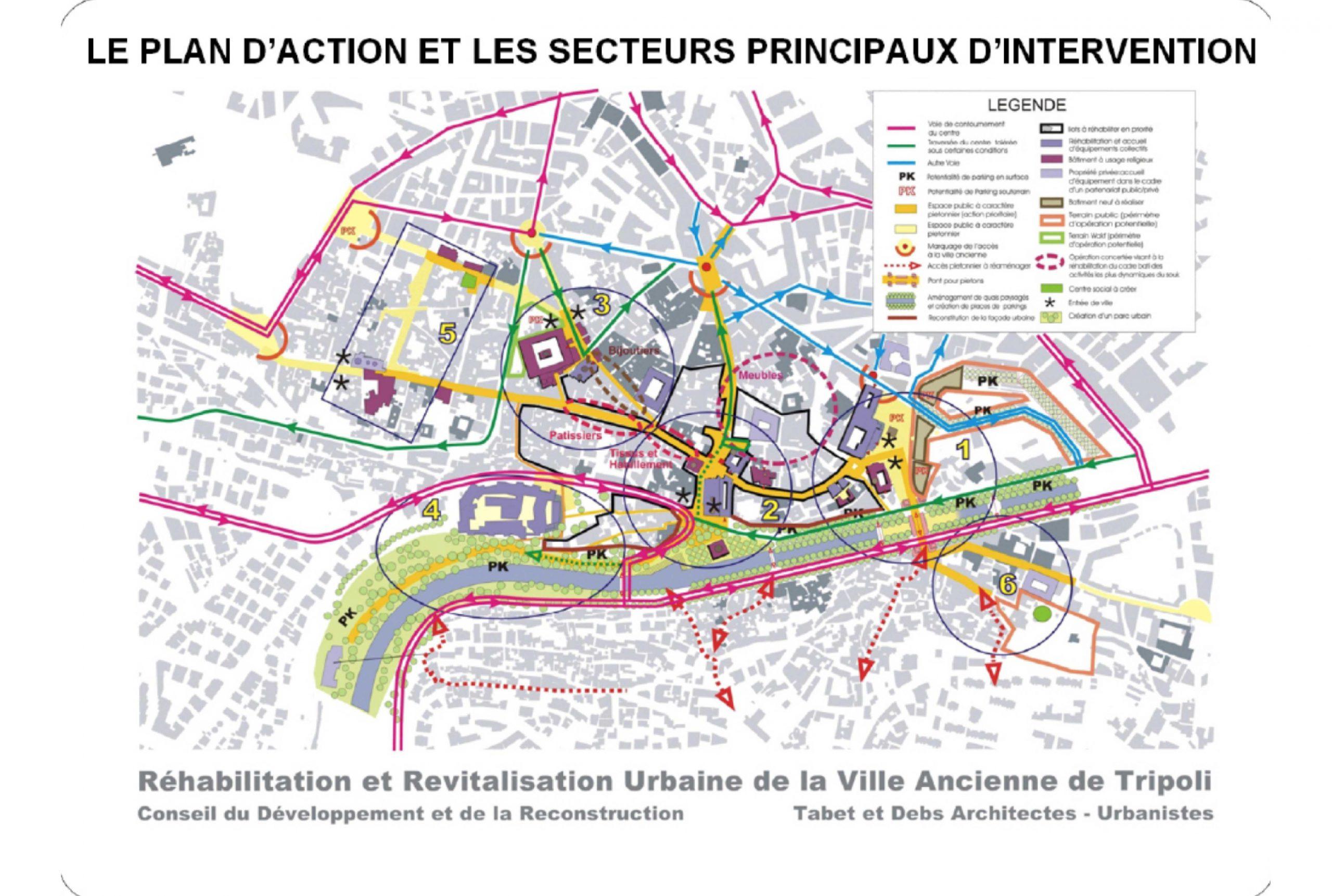 Projet urbanisme Tripoli 6 par Atelier JS Tabet