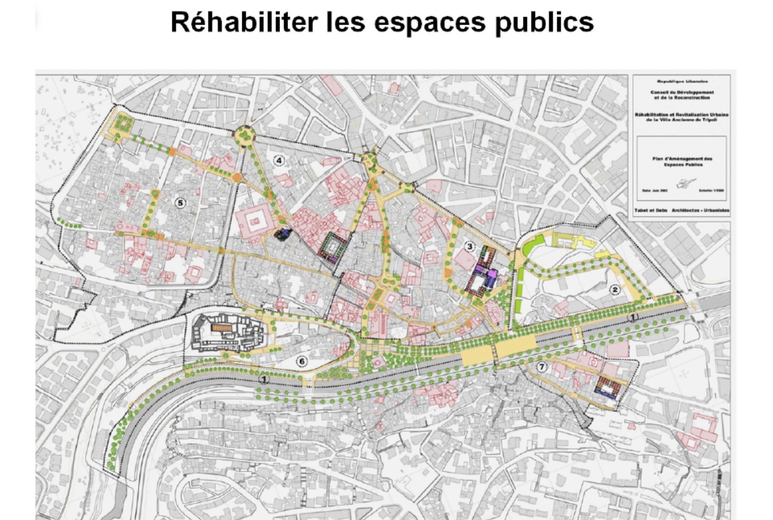 Projet urbanisme  par Atelier JS Tabet