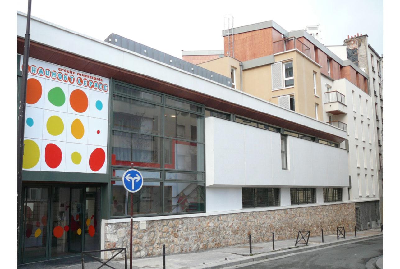 Projet equipement Villette crèche 1 par Atelier JS Tabet
