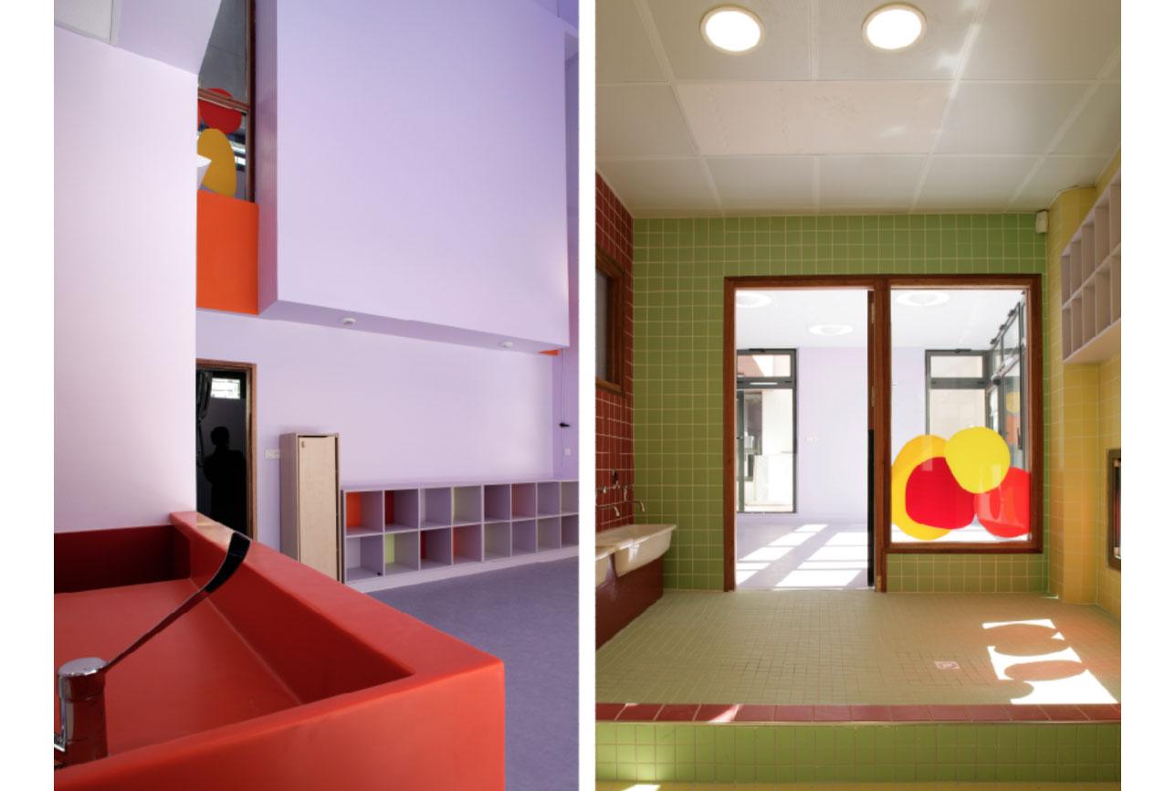 Projet equipement Villette crèche 2 par Atelier JS Tabet