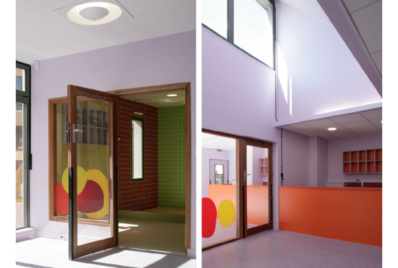 Projet equipement Villette crèche 3 par Atelier JS Tabet