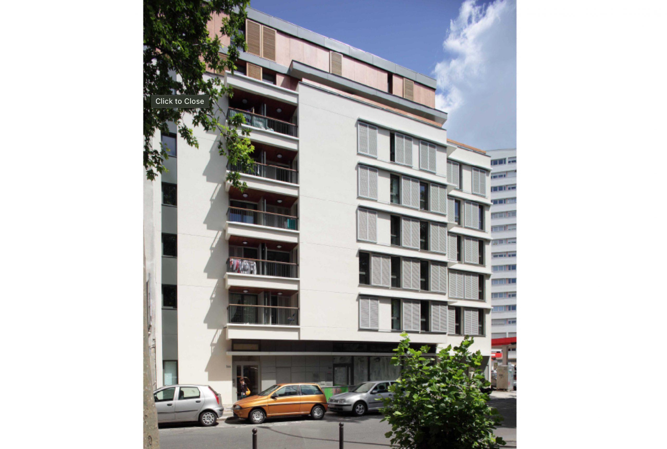 Projet logement Villette logements 1 par Atelier JS Tabet