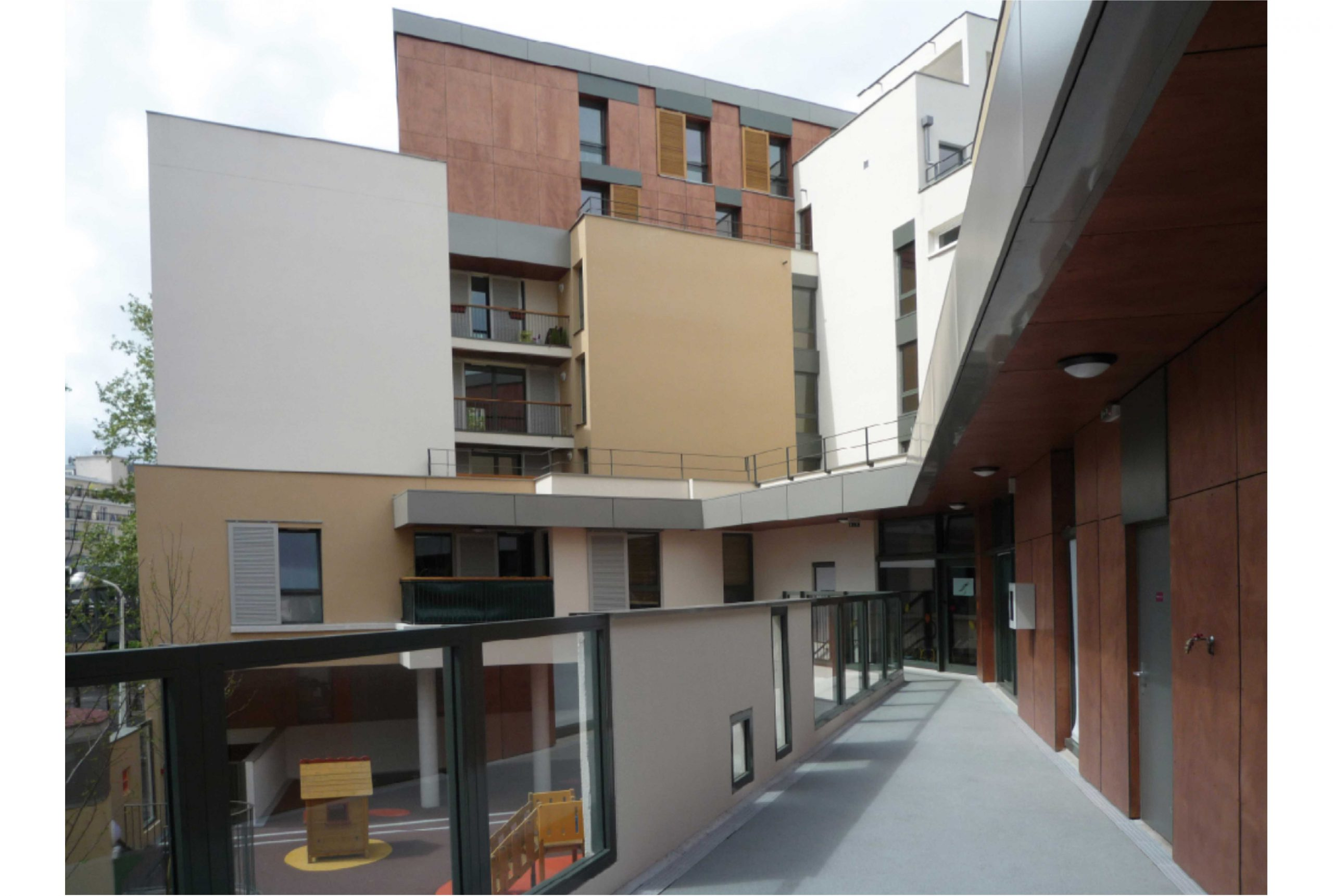 Projet logement Villette logements 3 par Atelier JS Tabet