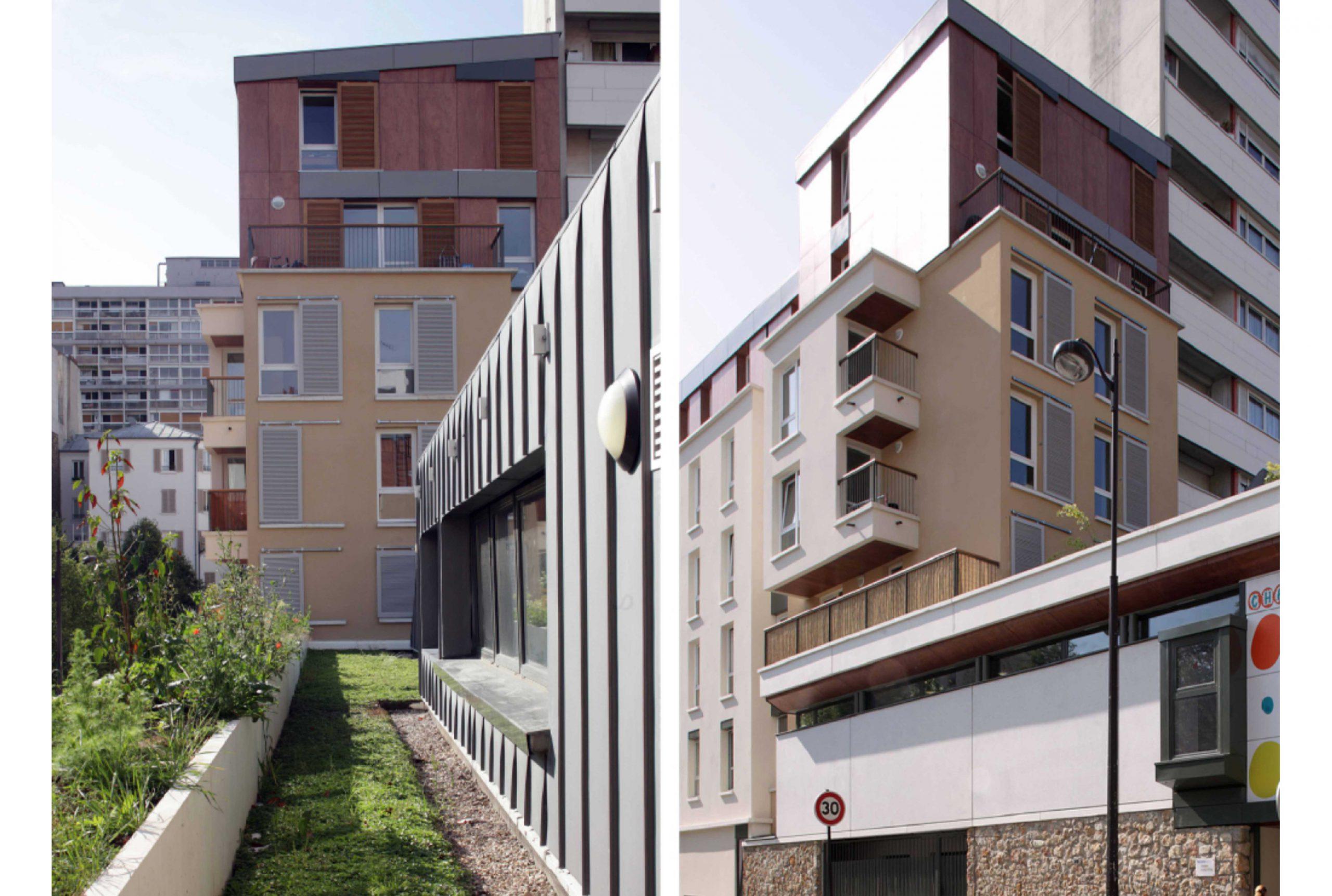 Projet logement Villette logements 4 par Atelier JS Tabet