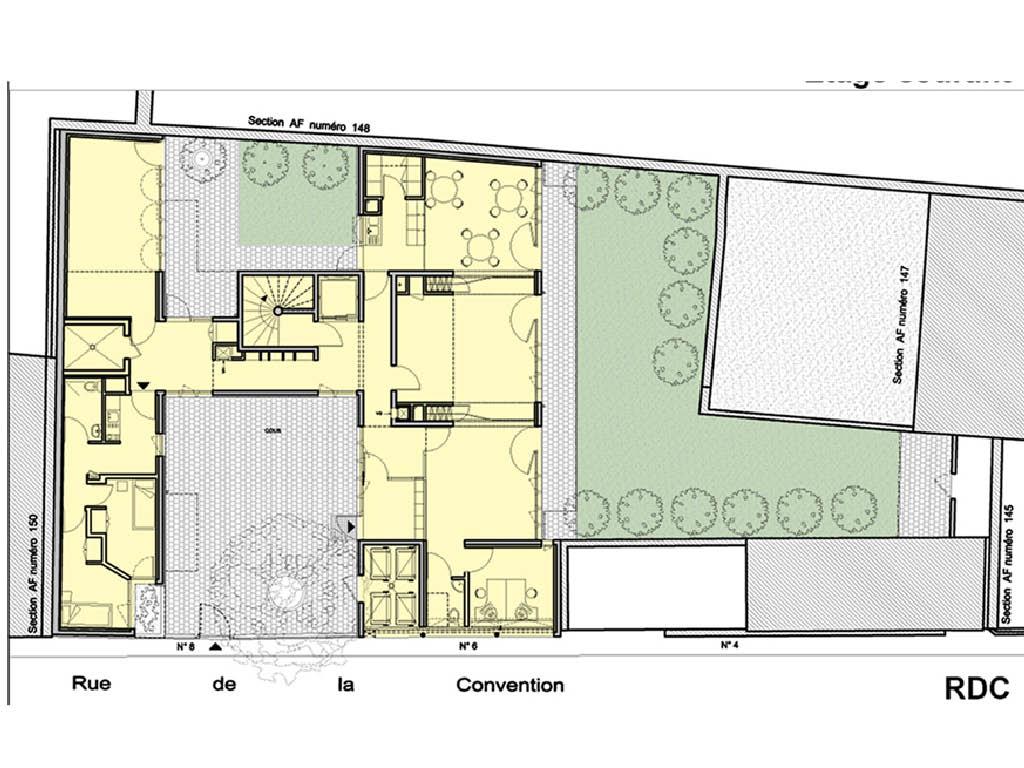 Projet foyer Babayaga 6 par Atelier JS Tabet
