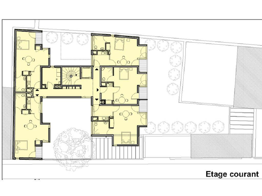 Projet foyer Babayaga 7 par Atelier JS Tabet