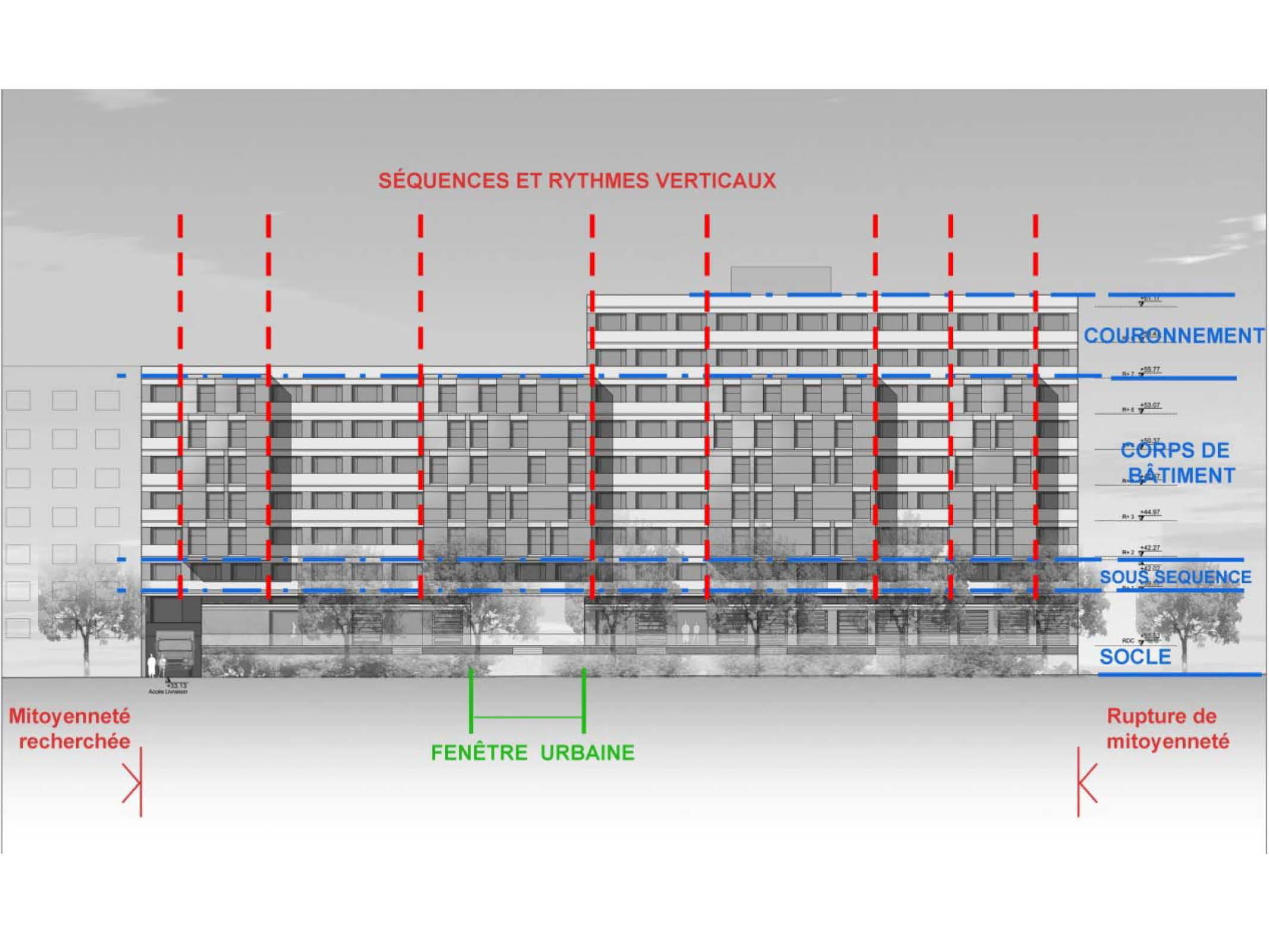 Projet foyer Vitry 5 par Atelier JS Tabet
